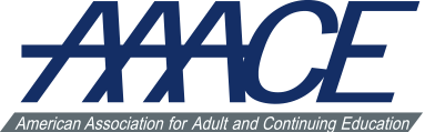 Logo for American Association for Adult and Continuing Education